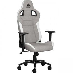 Corsair T3 RUSH Gaming Chair - Gray/White CF-9010030-WW