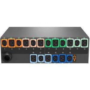 Geist rPDU 18-Outlets PDU NS30077L MNS3E3R1-18P993-3PS56B0H10-S
