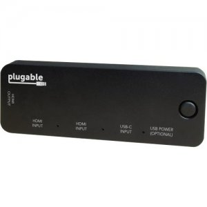 Plugable HDMI Switch With USB-C HDMI-SC3
