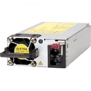 Aruba 54VDC 1600W 110-240VAC Power Supply JL670A X372