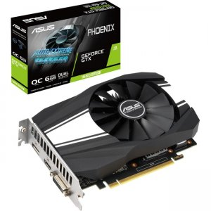 Asus Phoenix GeForce GTX 1660 SUPER OC Edition Graphic Card PH-GTX1660S-O6G