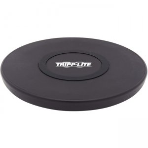 Tripp Lite Wireless Phone Charger - 10W, Qi Certified, Apple and Samsung Compatible, Black U280-Q01FL-BK