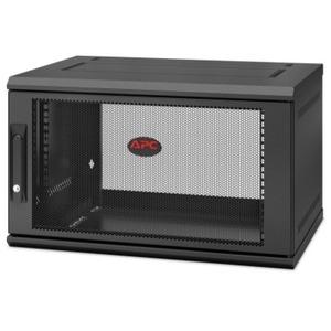 APC by Schneider Electric NetShelter WX 6U Single Hinged Wall-mount Enclosure 400mm Deep AR106SH4