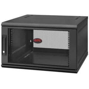 APC by Schneider Electric NetShelter WX 6U Single Hinged Wall-mount Enclosure 600mm Deep AR106SH6