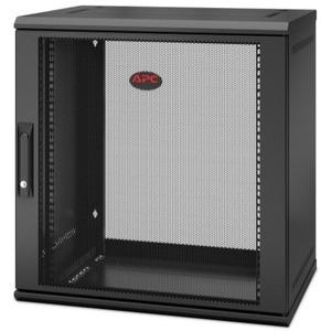 APC by Schneider Electric NetShelter WX 12U Single Hinged Wall-mount Enclosure 400mm Deep AR112SH4