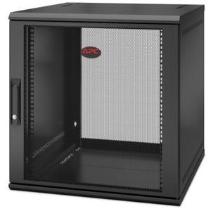 APC by Schneider Electric NetShelter WX 12U Single Hinged Wall-mount Enclosure 600mm Deep AR112SH6