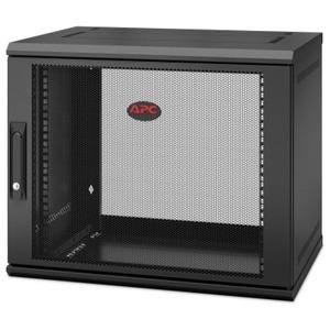 APC by Schneider Electric NetShelter WX 9U Single Hinged Wall-mount Enclosure 400mm Deep AR109SH4