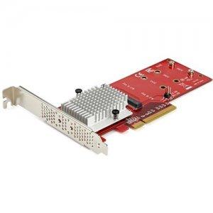 StarTech.com x8 Dual M.2 PCIe SSD Adapter - PCIe 3.0 PEX8M2E2
