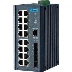 Advantech 16GE+4SFP Port Gigabit Unmanaged Industrial Switch EKI-2720G-4F-AE EKI-2720G-4F