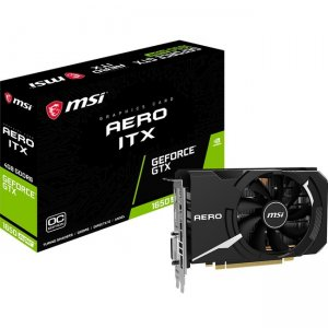 MSI Aero GeForce GTX 1650 Super ITX OC Graphic Card G165SAIC GeForce GTX 1650 Super Aero ITX OC