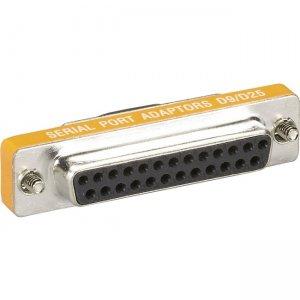 Black Box RS-232 Serial Slimline Adapter - DB9 Female to DB25 Female FA616