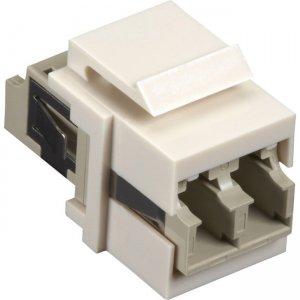 Black Box Keystone Snap Fitting - LC, Office White FMT354-R3