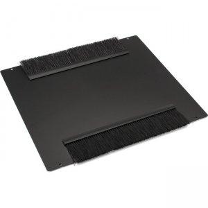 Black Box Top Panel, Brush Grommet, for Elite Cabinets ECTOPB