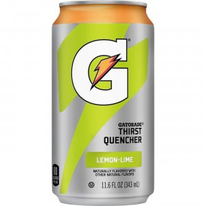 Quaker Oats Gatorade Can Flavored Thirst Quencher 00901 QKR00901