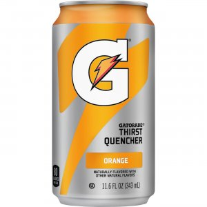 Quaker Oats Gatorade Can Flavored Thirst Quencher 00902 QKR00902