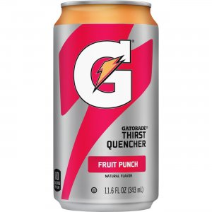 Quaker Oats Gatorade Can Flavored Thirst Quencher 30903 QKR30903