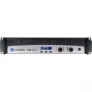 Crown Two-channel, 1200W @ 4, 70V/140V Power Amplifier NCDI4000 CDi 4000