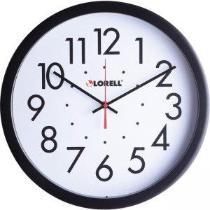 "Lorell 14-1/2"" Self-Set Wall Clock 61009 LLR61009"