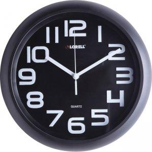 """Lorell 11-5/8"""" Quiet Wall Clock 61012 LLR61012"""
