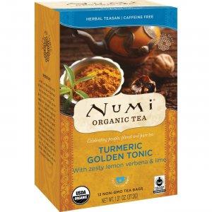Numi Turmeric Organic Tea 10551 NUM10551