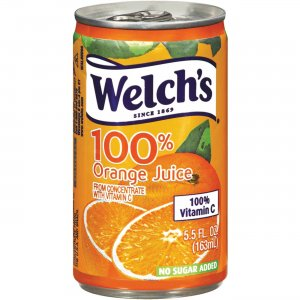 Welch's 100% Orange Juice Cans 28100 WEL28100