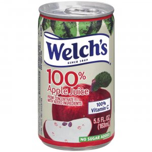 Welch's 100% Apple Juice Cans 28300 WEL28300