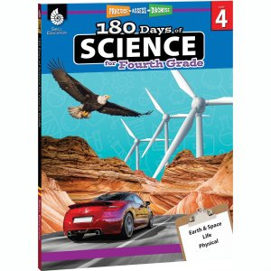 Shell Education 180 Days of Science Resource Book 51410 SHL51410