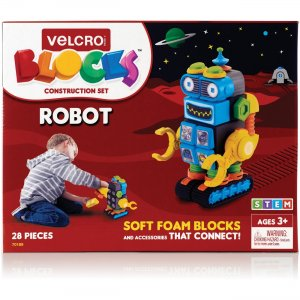 VELCRO Brand Soft Blocks Robot Construction Set 70189 VEK70189