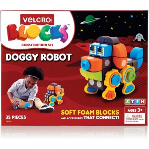 VELCRO Brand Soft Blocks Doggy Robot Set 70190 VEK70190
