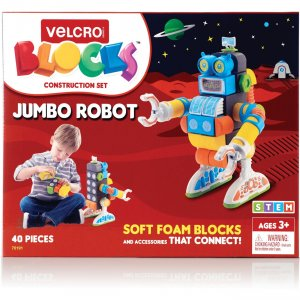 VELCRO Brand Soft Blocks Robot Construction Set 70191 VEK70191