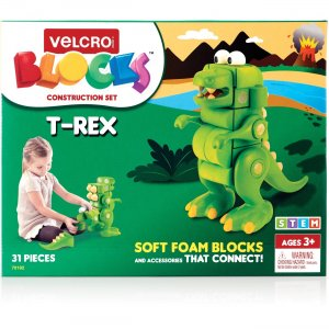 VELCRO Brand Soft Blocks T-Rex Construction Set 70192 VEK70192