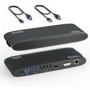 Plugable USB 3.0 Dual Monitor Horizontal Docking Station UD-3900H