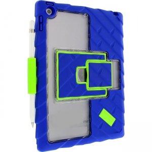Gumdrop Hideaway iPad 9.7 Case (5th & 6th Gen) Version 2 - Royal Blue - Lime GS-IPAD97-RYL_LMEV2