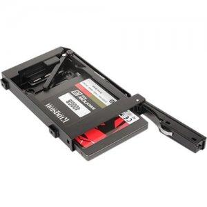 """iStarUSA Custom Size Trayless 2.5"""" SATA 6 Gbps HDD SSD Hot-swap Plastic Rack T-C25HD-P"""