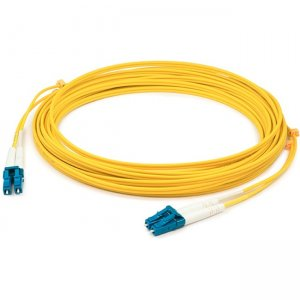 AddOn Fiber Optic Duplex Patch Network Cable ADD-LC-LC-1M5OM3-YW