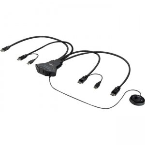 Belkin Secure 2-Port Flip DP-to-DP Dual Head KVM with Digital Audio, PP 3.0 F1DN202FLP-DP-3