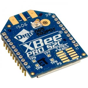 Digi XBee-PRO Zigbee Through-Hole (U.FL Antenna) XBP24CZ7UIT-004