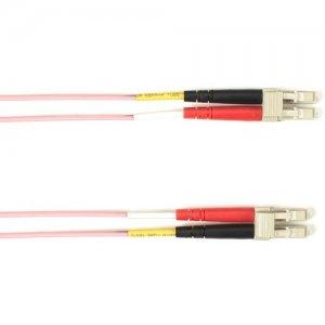 Black Box Fiber Optic Duplex Patch Network Cable FOLZH10-001M-LCLC-PK