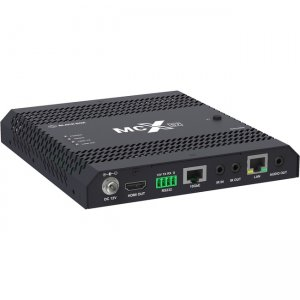 Black Box MCX S7 4K60 Network AV Decoder - HDCP 2.2, HDMI 2.0, 10-GbE Copper MCX-S7-DEC
