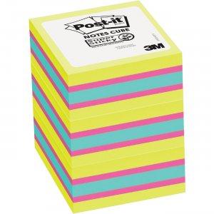 Post-it Super Sticky Notes Cubes 2027SSGFA3PK MMM2027SSGFA3PK