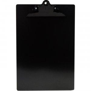 Saunders Black Clip Aluminum Clipboard 23516 SAU23516