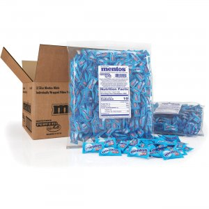 Mentos Chewy Mints Single Mini Packs 80900 MEN80900