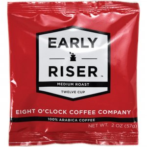 Coffee Pro Eight O'Clock Early Riser Coffee EOC2012R48 CFPEOC2012R48
