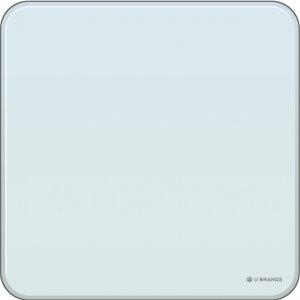 "U Brands Magnetic Glass 12"" Dry-erase Board 2343U0001 UBR2343U0001"