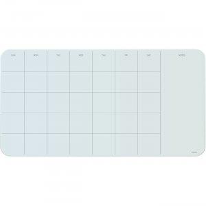 U Brands Magnetic Glass Dry-erase Monthly Board 2341U0001 UBR2341U0001