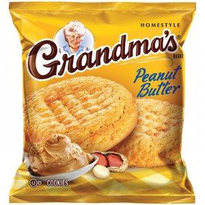 Quaker Oats Grandma's Peanut Butter Cookies 45091 QKR45091