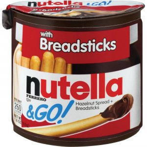 Nutella & GO Hazelnut Spread & Breadsticks 80314 FER80314