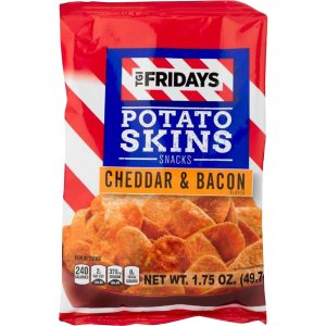 INVENTURE FOODS TGI Fridays Cheddar/Bacon Snack Chips 30563 IVT30563