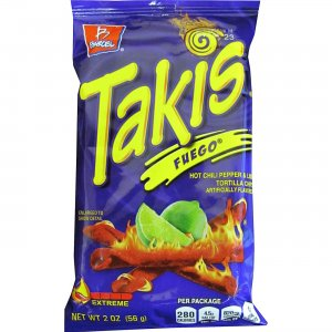 Takis Fuego Rolled Tortilla Chips 00276 BEL00276