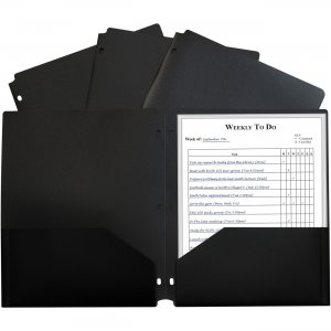 C-Line 2-pocket Heavyweight Poly Portfolio Pocket 33931 CLI33931 CLI-33931